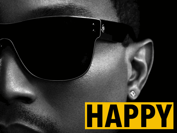 Pharrell Williams - Happy (Official Music Video) - YouTube   450x600